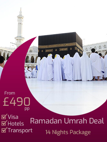 Ramadan Umrah Packages 2019 Booking Open Now for Last 10 and